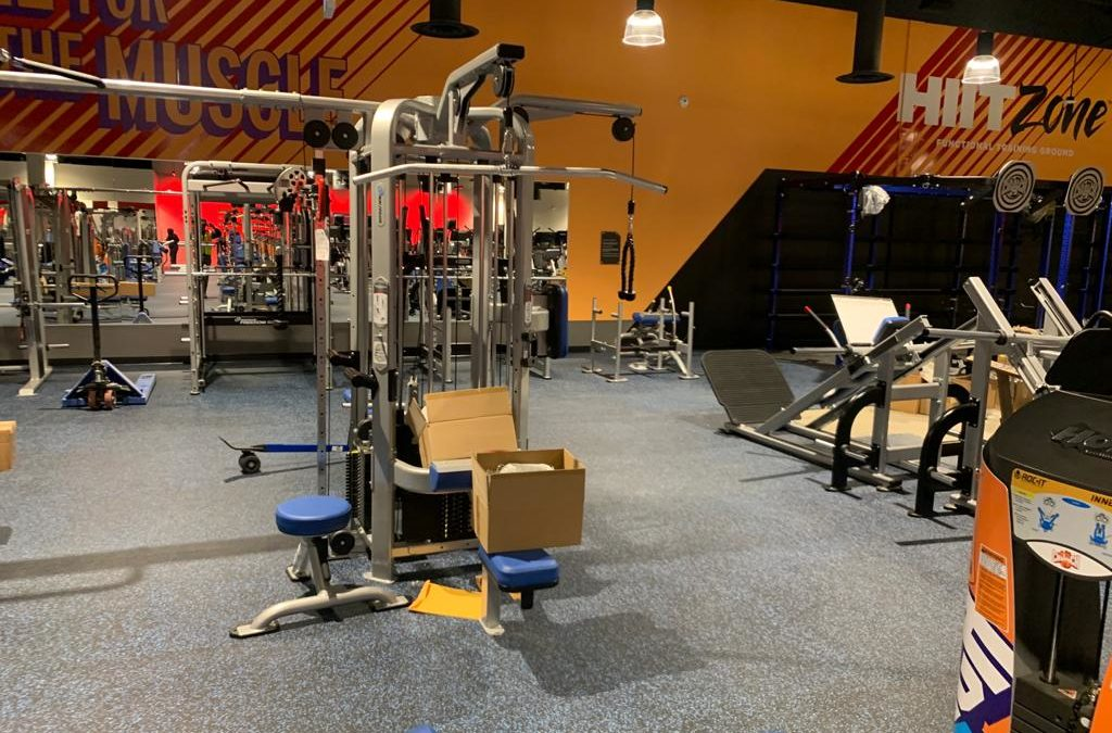 Gym Cleaning Services by HK Post Construction Cleaning Services, Vancouver BC