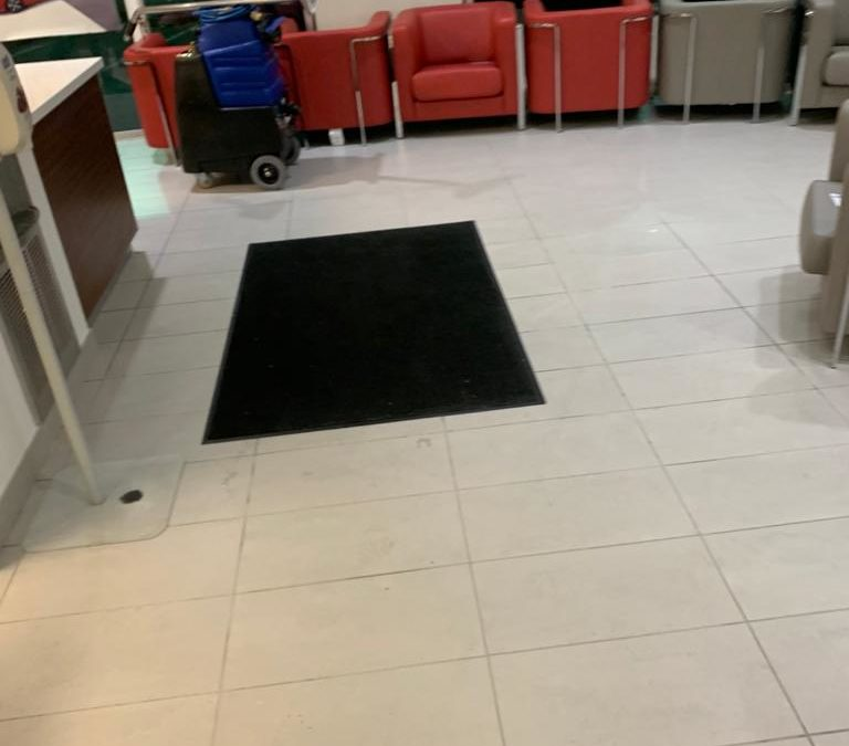 Richmond Honda Dealership Cleaning Services by HK Post Construction Cleaning Services, Vancouver BC